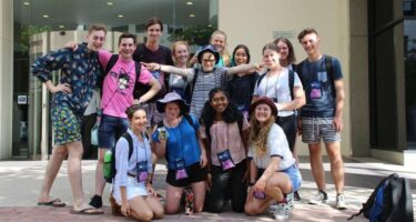 National Youth Science Forum is opening minds, connecting youths, and inspiring a love of science among West Australian participants.. Credit: Tate Needham