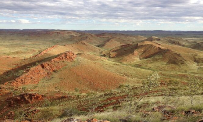 From the red dirt to the red planet