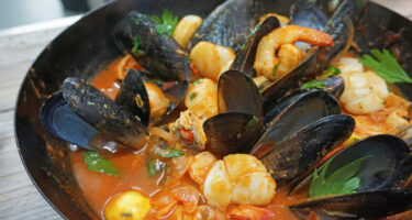 … Or you could tryBig Don's seafood hotpot . Credit: Don Hancey
