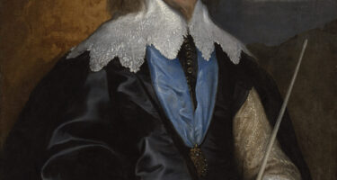 After treatment: Anthony van DYCK Philip Herbert, 4th Earl of Pembroke (c. 1634) oil on canvas 105.0 x 83.0 cm National Gallery of Victoria, Melbourne Felton Bequest, 1938 .
