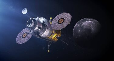 … and brand new landers to send humans back to the surface. . Credit: NASA