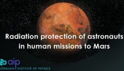 Radiation protection of astronauts in human missions to Mars