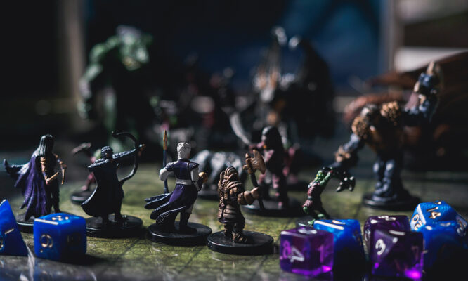 Taming the black dog with Dungeons & Dragons